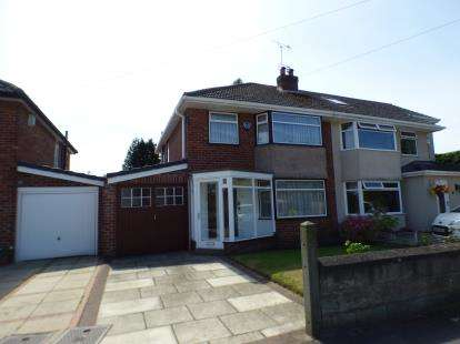 House for sale in Greenville Drive, Maghull, Merseyside, Uk, L31