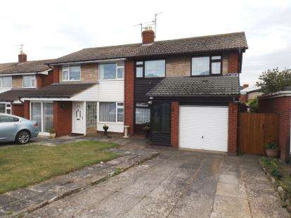 3 Bedrooms Semi Detached House for sale in Bastion Gardens, Prestatyn, Denbighshire, LL19