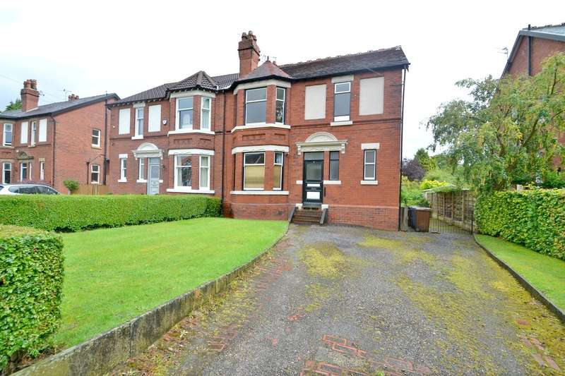 4 Bedrooms Semi Detached House for sale in Egerton Road, Davenport,Stockport