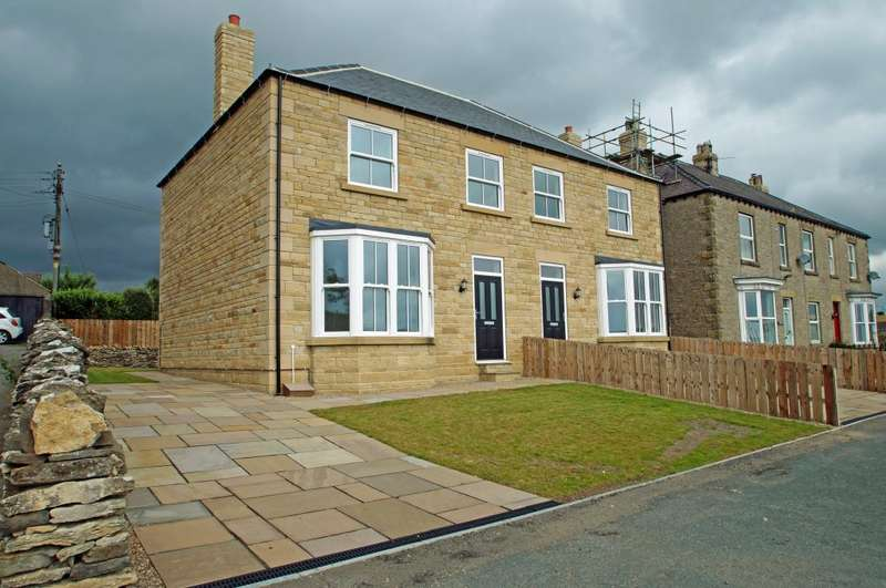 4 Bedrooms Semi Detached House for sale in 15A St Mary's Mount, Leyburn, DL8 5JB