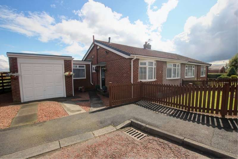 3 Bedrooms Semi Detached Bungalow for sale in Larch Close, Gateshead, NE9