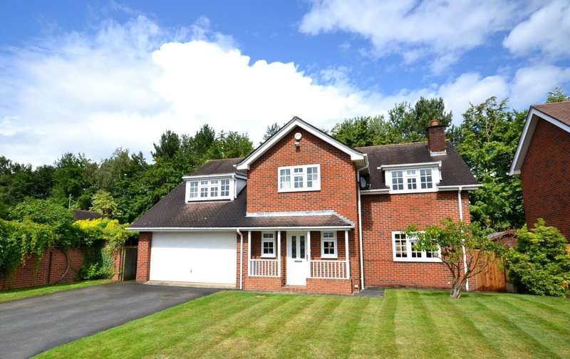 5 Bedrooms Detached House for sale in Hitch Lowes, Chelford, Macclesfield