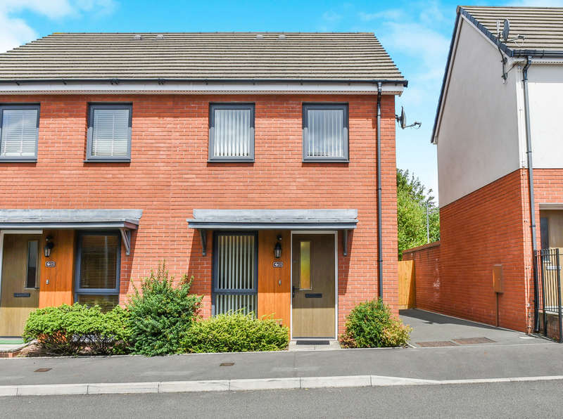 2 Bedrooms Terraced House for sale in Bartley Wilson Way, Cardiff