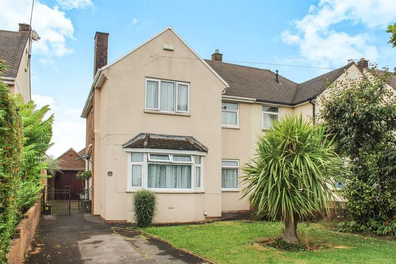 3 Bedrooms Semi Detached House for sale in Axbridge Crescent, Llanrumney, CARDIFF