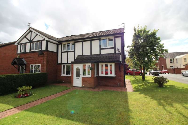 3 Bedrooms Semi Detached House for sale in Belgrave Close, Blackburn, BB2