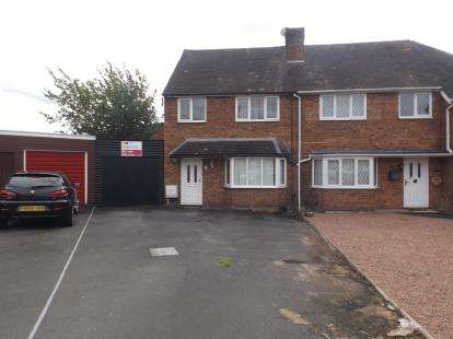 3 Bedrooms Semi Detached House for sale in Rosemary Road, Kidderminster, Worcestershire