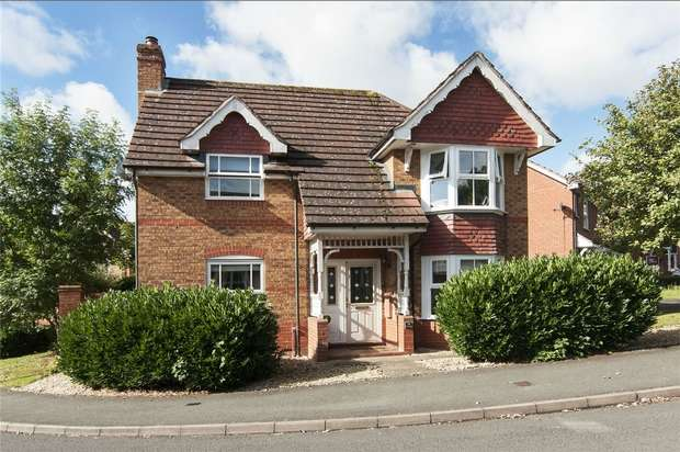 3 Bedrooms Detached House for sale in 39 St Margaret Road, Ludlow, Shropshire
