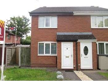 2 Bedrooms Semi Detached House for sale in Queens Park Gardens, Crewe, CW2 7SW