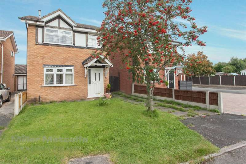 3 Bedrooms Detached House for sale in Aviemore Drive, Fearnhead, Warrington, WA2