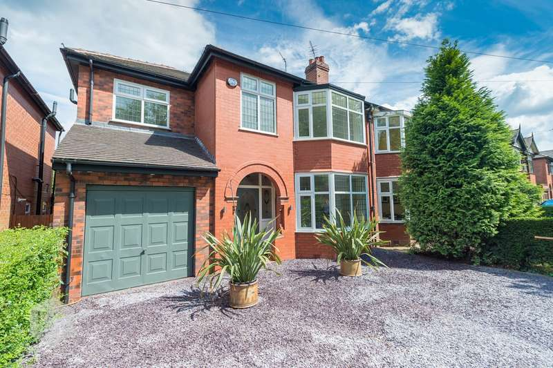 4 Bedrooms Semi Detached House for sale in Walkden Road, Worsley, Manchester, M28