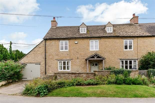 4 Bedrooms Semi Detached House for sale in Upper End, Salford, Chipping Norton, Oxfordshire