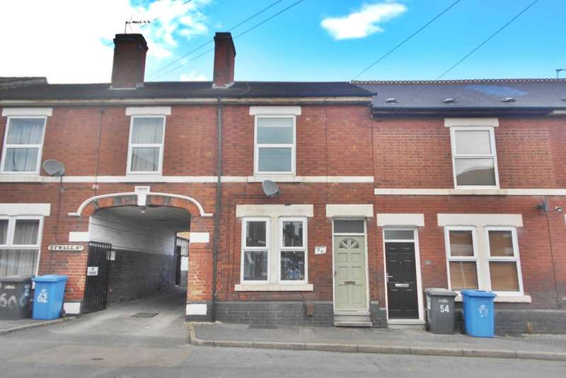 2 Bedrooms Terraced House for sale in Etwall Street, Derby