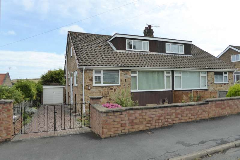 3 Bedrooms Semi Detached Bungalow for sale in Woods Close, Burniston, YO13 0JB