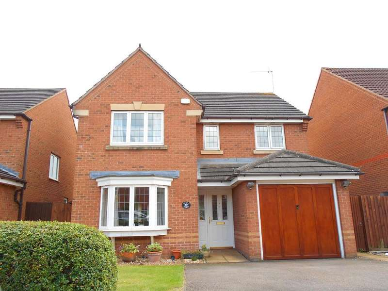 4 Bedrooms Detached House for sale in Croyland Drive, Bedford, MK42 9GJ