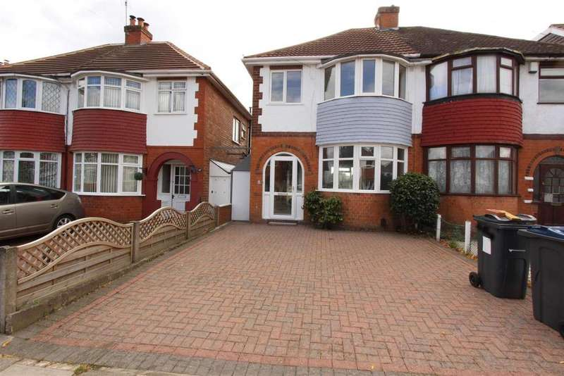 3 Bedrooms Semi Detached House for sale in Gotham Road, Birmingham