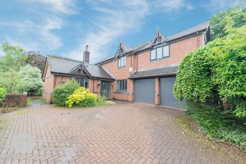 4 Bedrooms Detached House for sale in Ravens Wood, Bolton, BL1