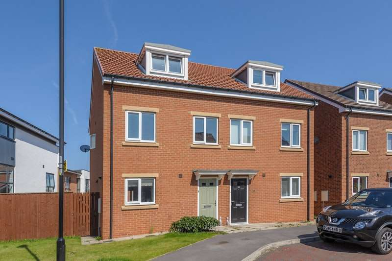 3 Bedrooms Town House for sale in Bristol Drive, Wallsend, Tyne and Wear, NE28