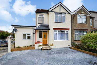 5 Bedrooms Semi Detached House for sale in Eden Park Avenue, Beckenham