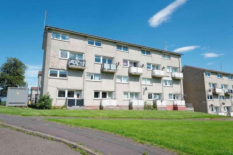 2 Bedrooms Maisonette Flat for sale in Slenavon Avenue, Rutherglen, Glasgow, G73 5LY