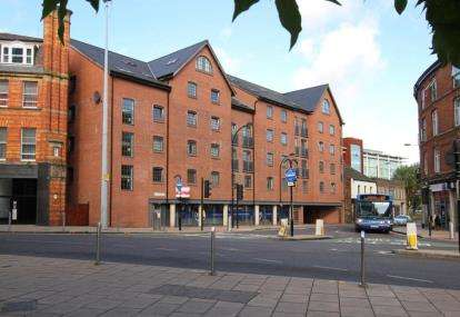 2 Bedrooms Flat for sale in City Wharf, 1 Nursery Street, Sheffield, South Yorkshire