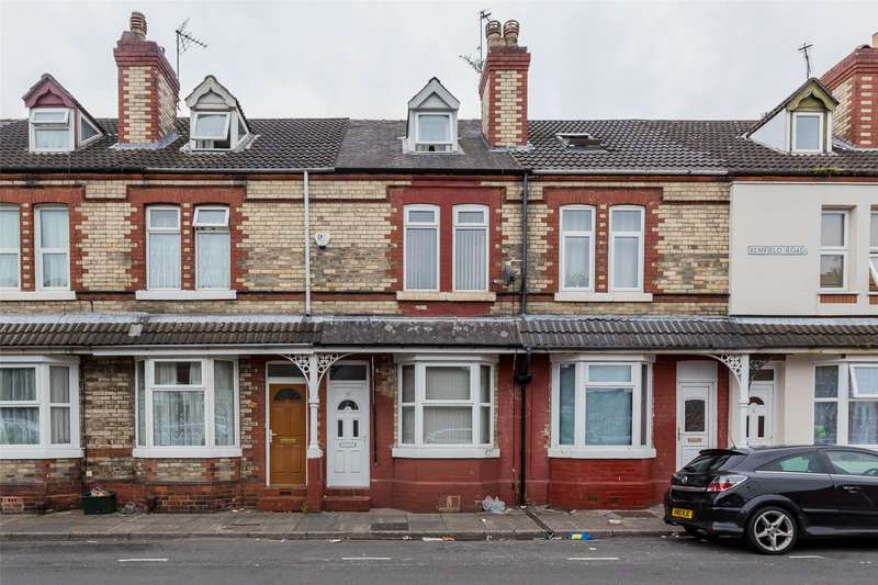 3 Bedrooms Terraced House for sale in Elmfield Road, Doncaster, DN1