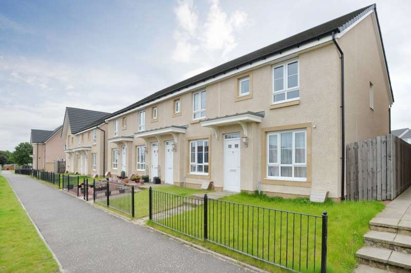 3 Bedrooms End Of Terrace House for sale in Church View, Winchburgh, West Lothian, EH52 6SZ
