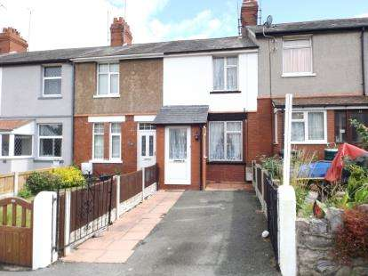 3 Bedrooms Terraced House for sale in Coed Coch Road, Old Colwyn, Colwyn Bay, Conwy, LL29