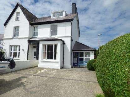 Semi Detached House for sale in Ffordd Dewi Sant, Nefyn, Pwllheli, Gwynedd, LL53