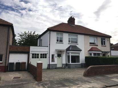 3 Bedrooms Semi Detached House for sale in Roker Avenue, Whitley Bay, Tyne and Wear, NE25