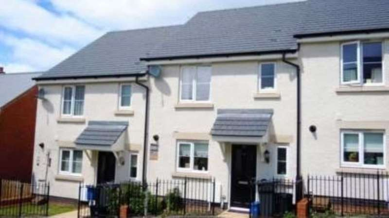 3 Bedrooms Terraced House for sale in Carnac Drive, Dawlish