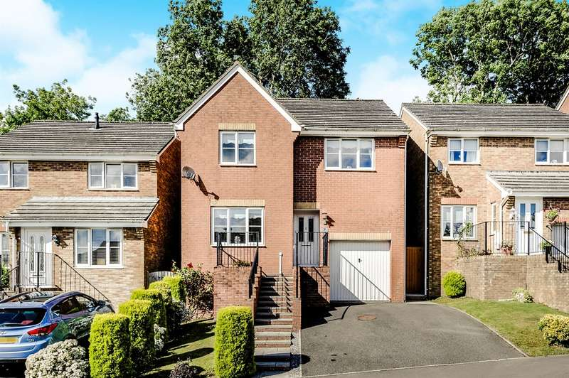 4 Bedrooms Detached House for sale in Oak Tree Rise, Merthyr Tydfil