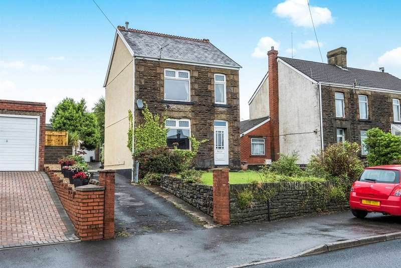 3 Bedrooms Detached House for sale in Llanllienwen Road, Cwmrhydyceirw, Swansea