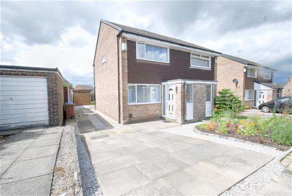 2 Bedrooms Semi Detached House for sale in Witham Close, Rochdale