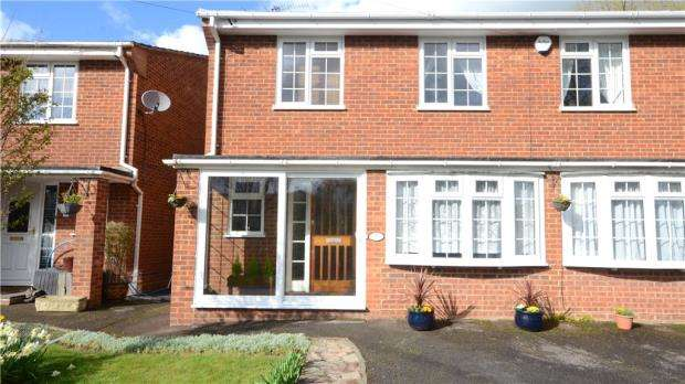 4 Bedrooms Semi Detached House for sale in Tatchbrook Close, Maidenhead, Berkshire