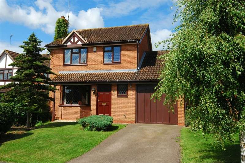 3 Bedrooms Detached House for sale in Maidenhair Drive, Boughton Vale, RUGBY, Warwickshire