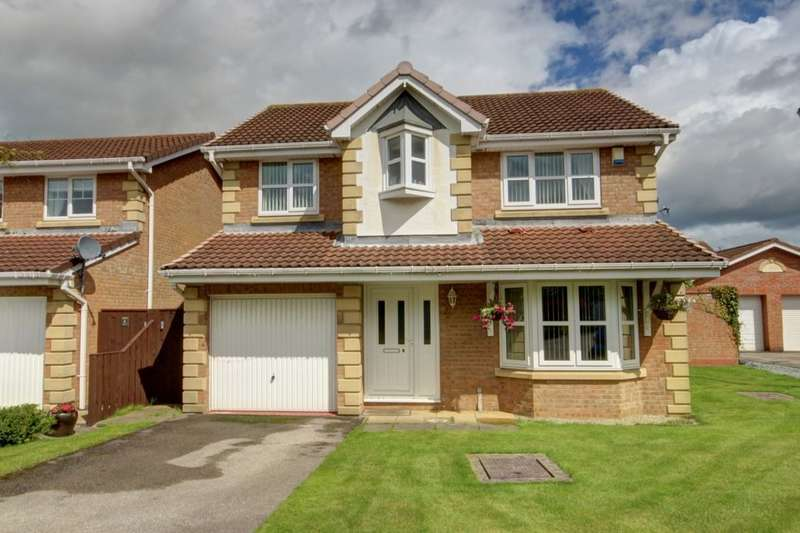 4 Bedrooms Detached House for sale in Romney Close, Philadelphia, Houghton Le Spring, DH4