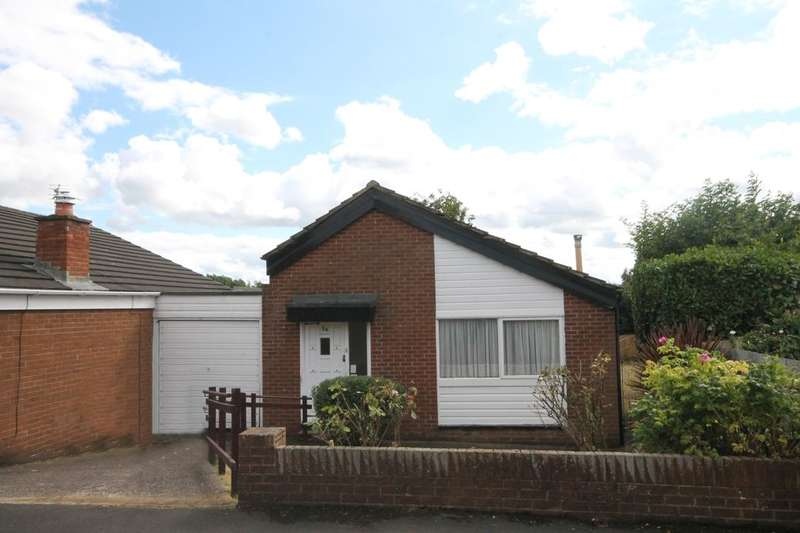 2 Bedrooms Detached Bungalow for sale in Morston Drive, Dumpling Hall, Newcastle Upon Tyne, NE15