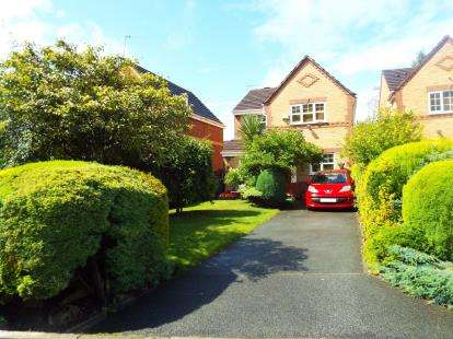 4 Bedrooms Detached House for sale in Gillers Green, Worsley, Manchester, Greater Manchester