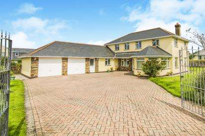 4 Bedrooms Detached House for sale in Delabole, Cornwall