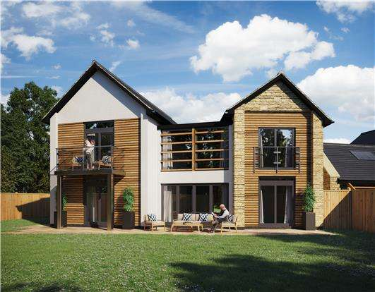 4 Bedrooms Detached House for sale in Plot 6 Sheep Field Gardens, High Street, Portishead, Bristol, BS20 6QL
