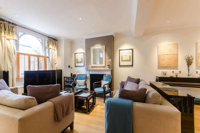 4 Bedrooms House for sale in Kinnoul Road, Barons Court, W6
