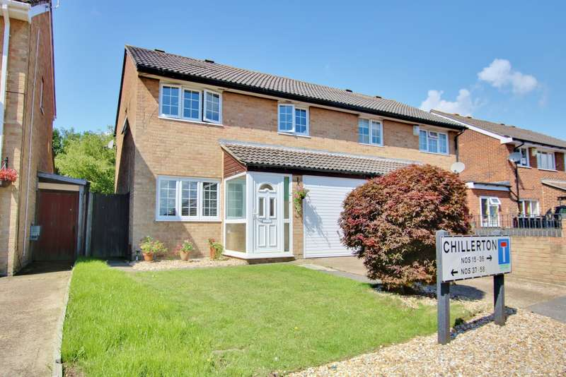 3 Bedrooms Semi Detached House for sale in Chillerton, Netley Abbey