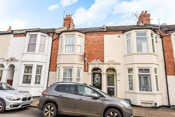 3 Bedrooms Terraced House for sale in Lutterworth Road, Northampton, NN1 5JL