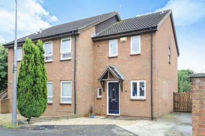 2 Bedrooms Semi Detached House for sale in Bader Close, Yate, Bristol, Gloucestershire