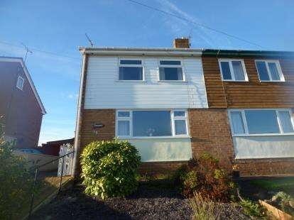 3 Bedrooms Semi Detached House for sale in Windsor Drive, Flint, Flintshire, ., CH6