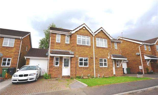 3 Bedrooms Semi Detached House for sale in Lime Gardens, Basingstoke, Hampshire