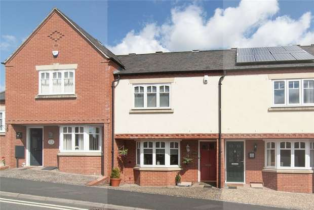 2 Bedrooms Terraced House for sale in 2 Abbotts Row, Friars Garden, Ludlow, Shropshire