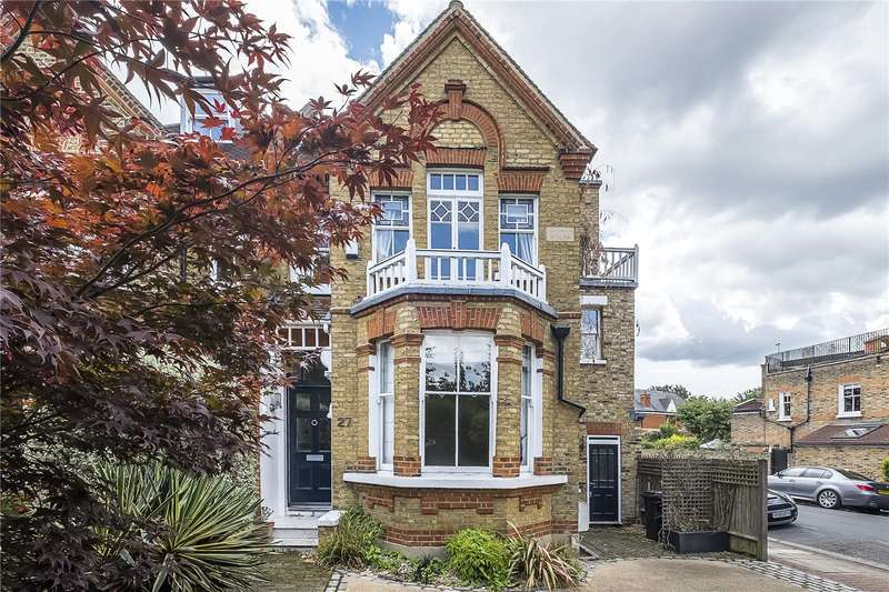 6 Bedrooms Semi Detached House for sale in Lower Common South, London, SW15