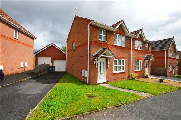 3 Bedrooms Semi Detached House for sale in Hyacinth Road, Basford, Stoke on Trent