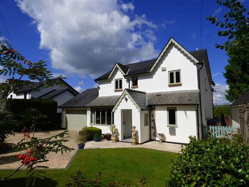 4 Bedrooms Detached House for sale in Porthcerrig, Shirenewton, Near Chepstow